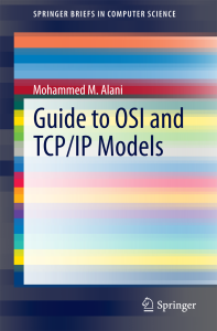 Guide to OSI and TCP/IP Model
